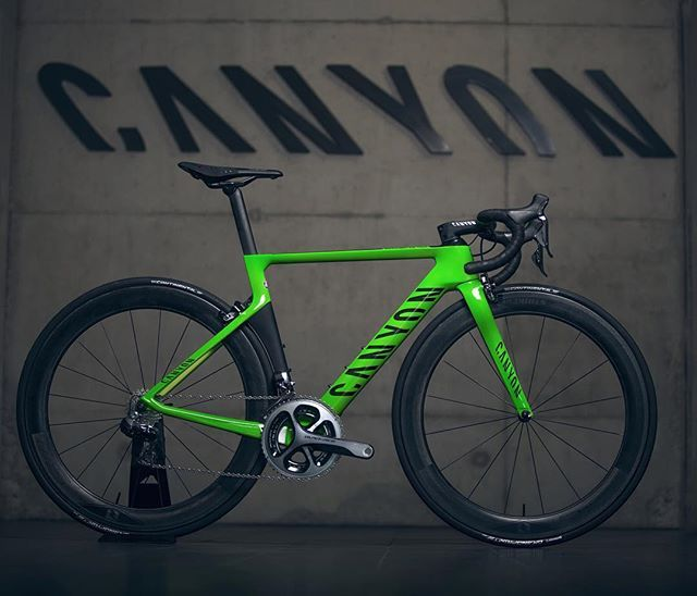 This is still the most popular image we have ever posted on Instagram. Our Olympic bikes really seemed to capture the imagination of Canyon fans around the world. Let us know what you'd like to see next and don't forget to share your own images whilst out riding with the hashtag #mycanyon