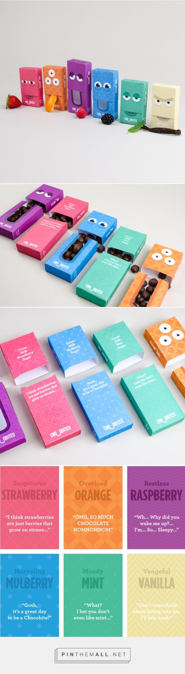 Chocobites (Student Project) - Packaging of the World - Creative Package Design Gallery - http://www.packagingoftheworld.com/2016/07/chocobites-student-project.html