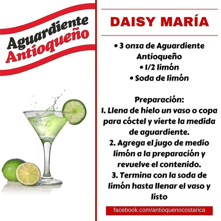 ¡Aguardiente Antioqueño combina con todo! #Aguardiente #Antioqueño #Coctel #Cocktail #DaisyMaria