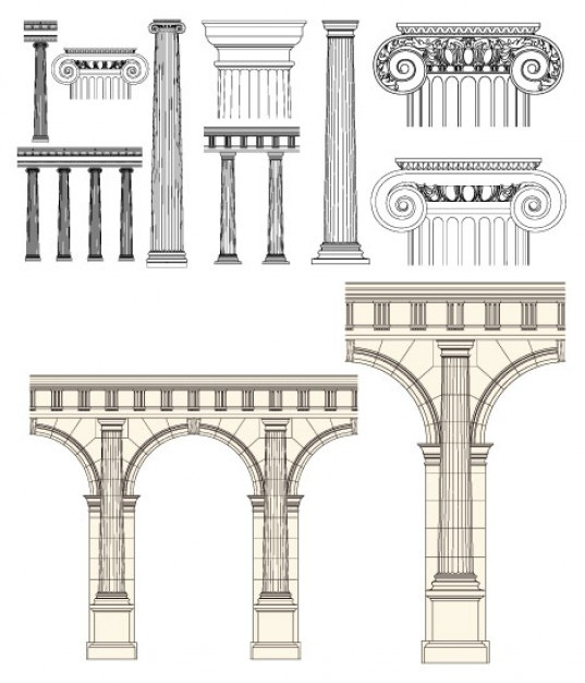estilo-europeo-vector-columna_34-25752.jpg (537×626)