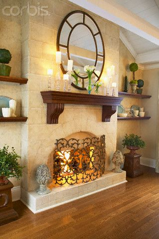 178 best Decorate Your Fireplace and Mantel images on Pinterest ...