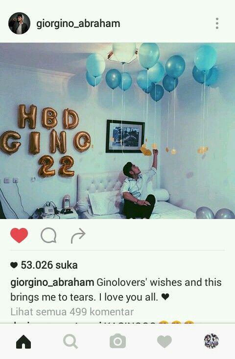 Gino's birthday Blue birthday blue baloons 😄😄 30 November 2016 💙💙