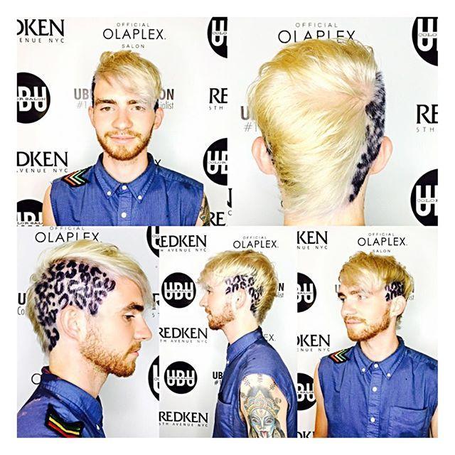 ✂️ Trending Platinum with Hand painted purple Leopard print by @cpowell1980 Call to book a free consultation to achieve this look. 813.801.9700 #Artist #hairartist #Leopardprint #platinum #platinumblonde #trending  #GuyHair @GuysHair #dapper #classiccut #customcut #gentscut #gentlemen #beardgang #beards #gentlemen #menwithstreetstyle #men #barber #malehairmodel #undercut #beards #barber #babershop #menslaw #menshair #suitup #hairnerd #hairporn  #leopardhair #londonfashionweek #olaplex…