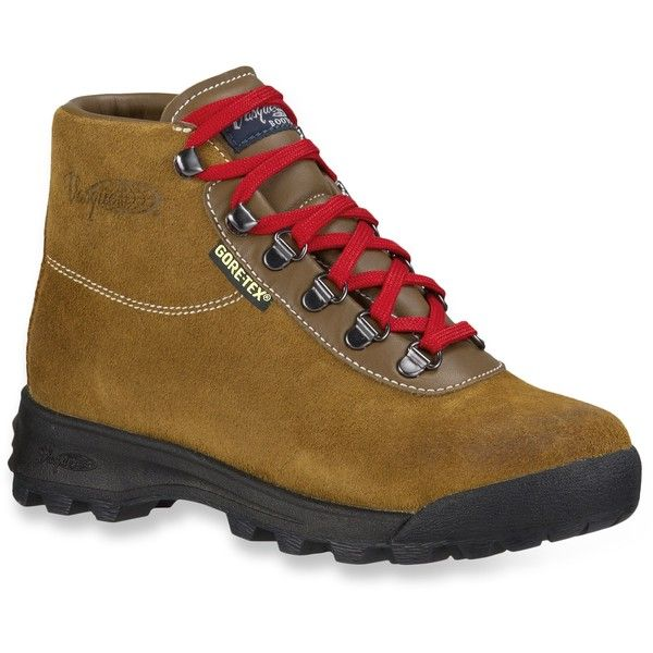 Vasque Sundowner GTX Hiking Boots (305 CAD) ❤ liked on Polyvore featuring shoes, boots, hiking boots, vasque footwear, vasque shoes, vasque and vasque boots