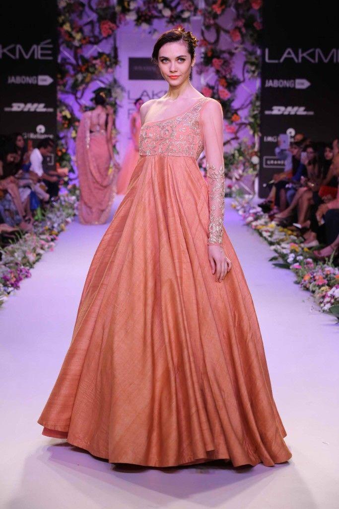 Shyamal & Bhumika at Lakme Fashion Week S/R 2014
