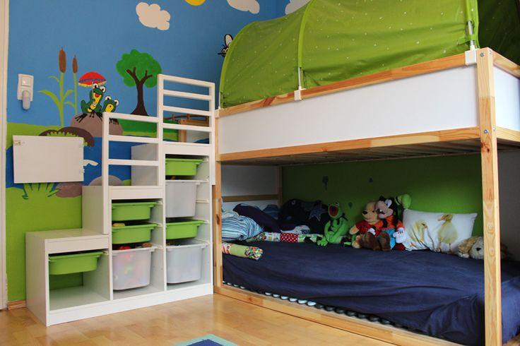 die besten 25 etagenbett ideen auf pinterest etagenbett. Black Bedroom Furniture Sets. Home Design Ideas