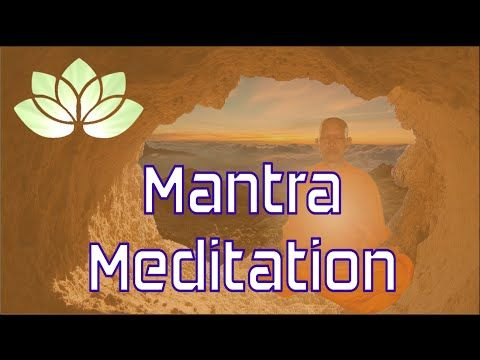 Mantra Meditation Deutsch - Energiemeditation - YouTube