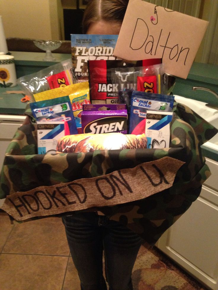 Boyfriend fishing gift idea
