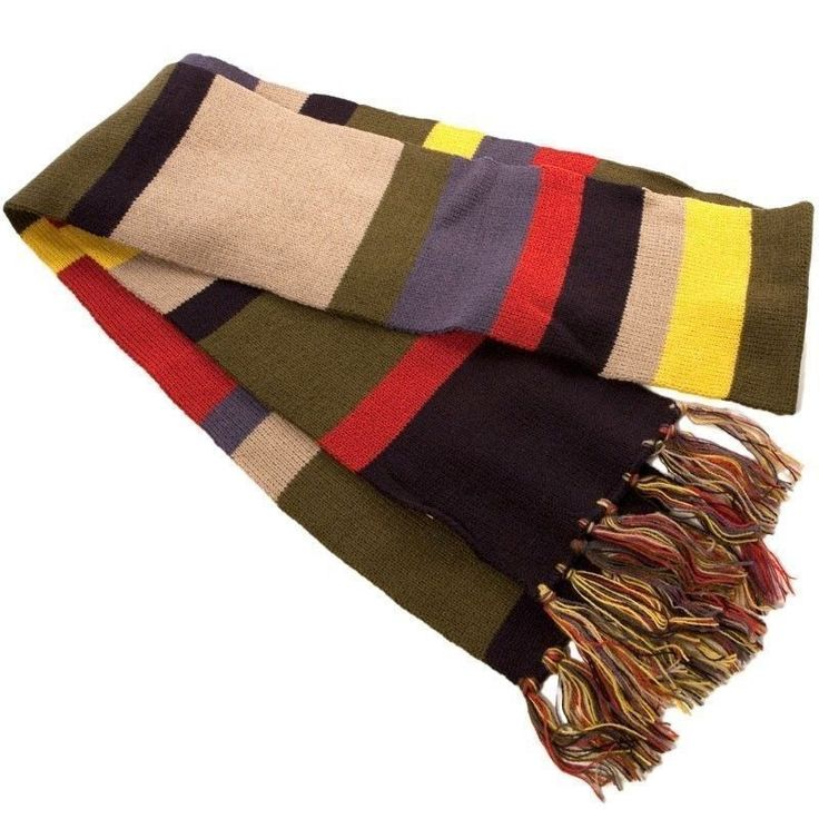 Knitting Pattern Fourth Doctor Scarf : 1000+ ideas about Doctor Who Scarf on Pinterest Doctor Who Crochet, Doctor ...