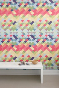 Pattern Wall Tiles in HOW magazine's September issue. Page 14 to be exactWall Pattern, Colors, Wall Decals, Tile Sets, Fishwal Pattern, Wall Tile, Wall Design, Accent Wall, Pattern Wall