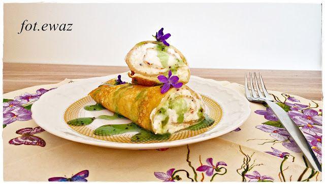 Ewa w kuchni: Naleśniki z kiwi i serem