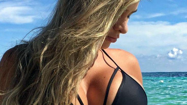 Una modelo compartió una foto de su pancita...¡y todos vieron algo RARÍSIMO! | TN.com.ar