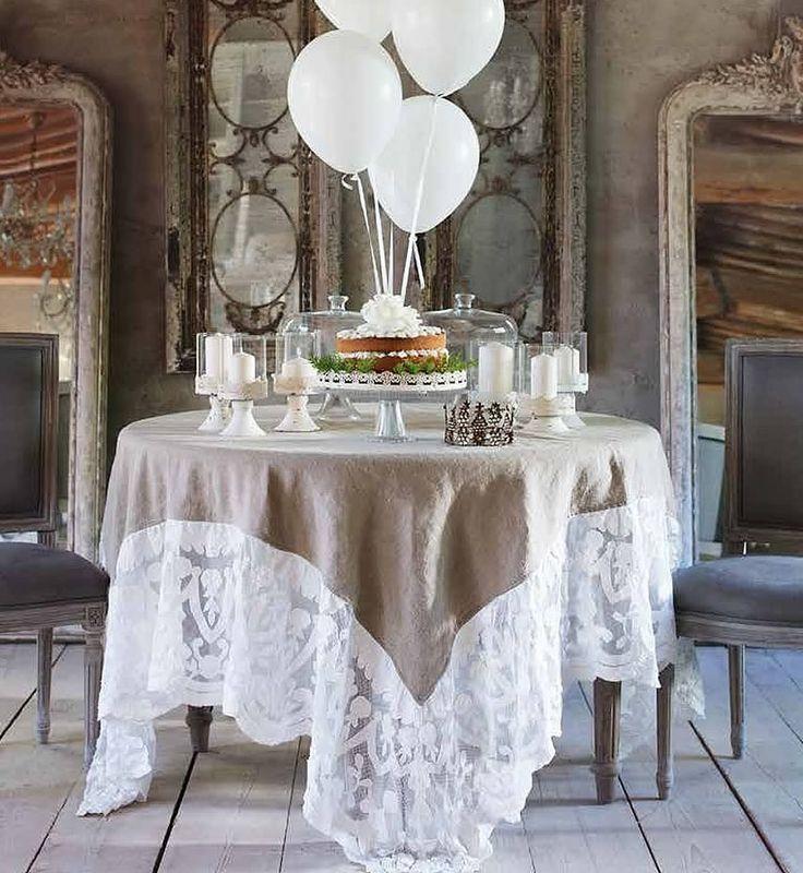 Le 15 migliori idee su tovaglia di lino su pinterest - Copritavolo moderno ...