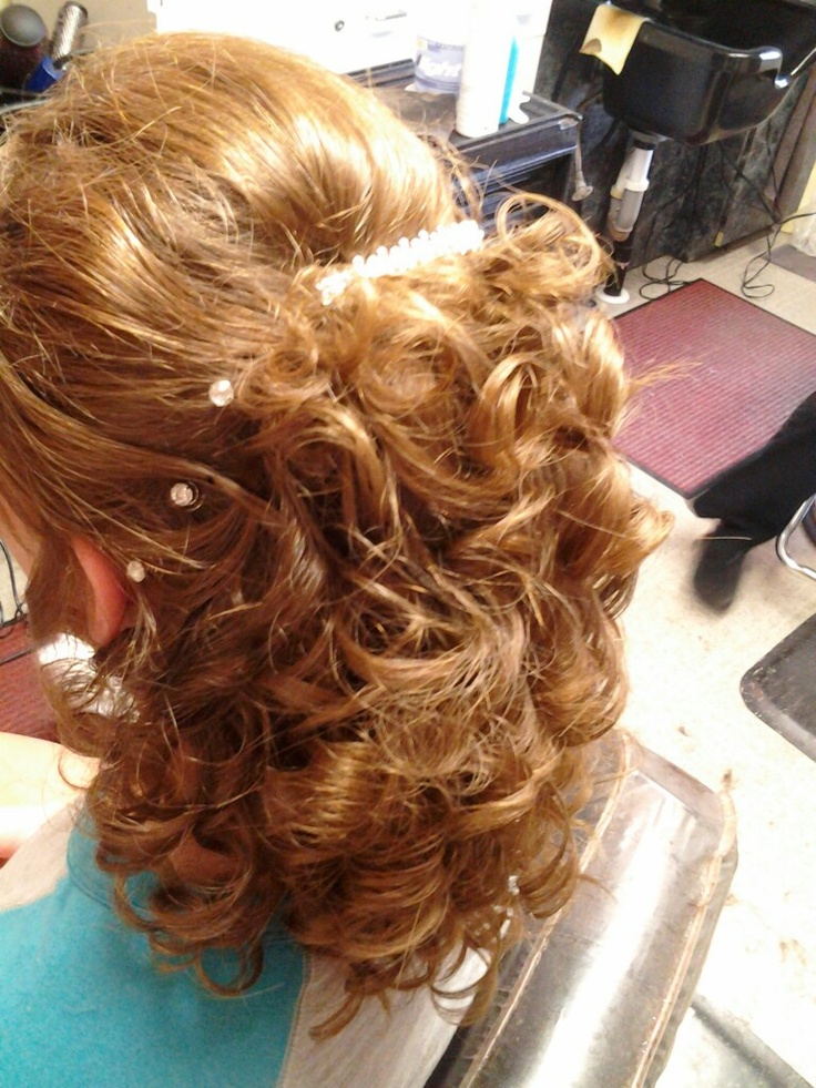 Curls...stylist Laura Williams