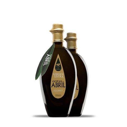 Aceite de Oliva Virgen Extra Gotas de Abril #aceite #oliva #abril
