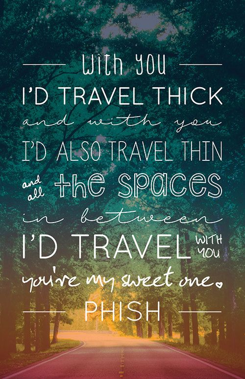 Phish Lyrics Quote Poster My Sweet One by MariaDdesigns on Etsy