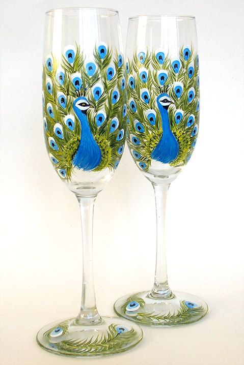 The 25 Best Painted Champagne Flutes Ideas On Pinterest
