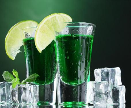 liquore menta
