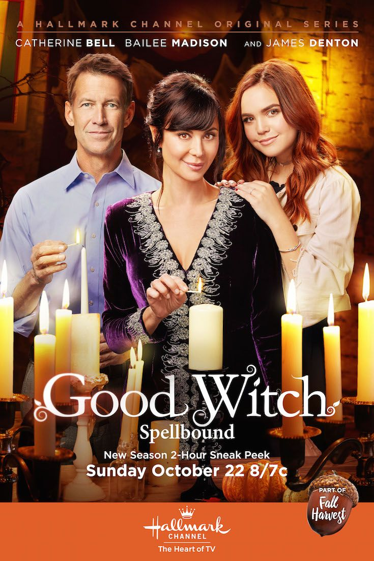 Good Witch: Spellbound - Cassie, Grace and Sam are back in an all new Halloween 2-hour special this month! Catch the magic on October 22 at 9/8c on Hallmark Channel. #Goodies #HallmarkChannel