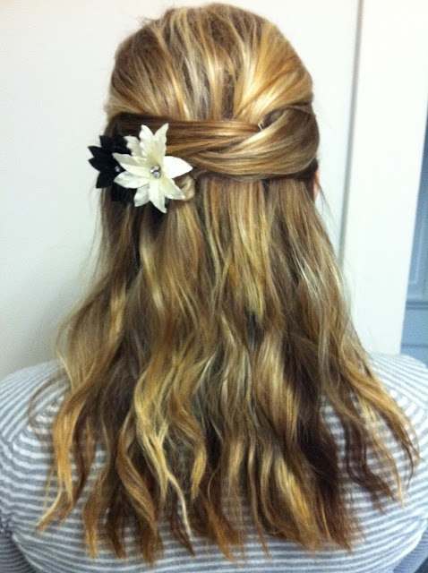 Pretty Half Updo Maid Of Honor Or Braidsmaids For My