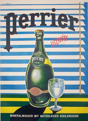 One New Years resolution: STOP DRINKING SODA! So I have a new obsession, my friend Perrier!