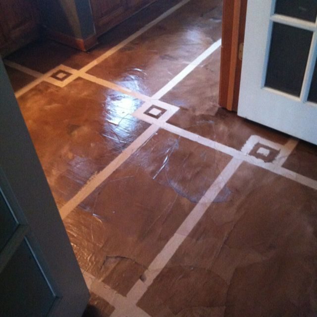 Paper Bag Floors On Concrete: 26 Best Concrete Floors Do It Yourself Images On Pinterest