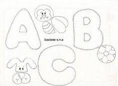 JORNAL PONTO COM: Alfabetos gordinhos - moldes. Alfabetos gordinhos ...