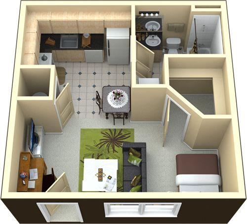 Las 25 mejores ideas sobre planos para casas peque as en for Ideas economicas para decorar una casa pequena