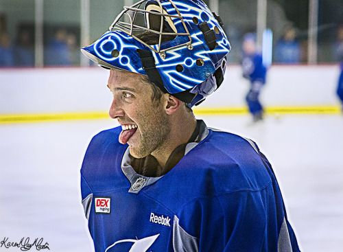 Ben Bishop Tampa Bay Lightning Training Camp 2015