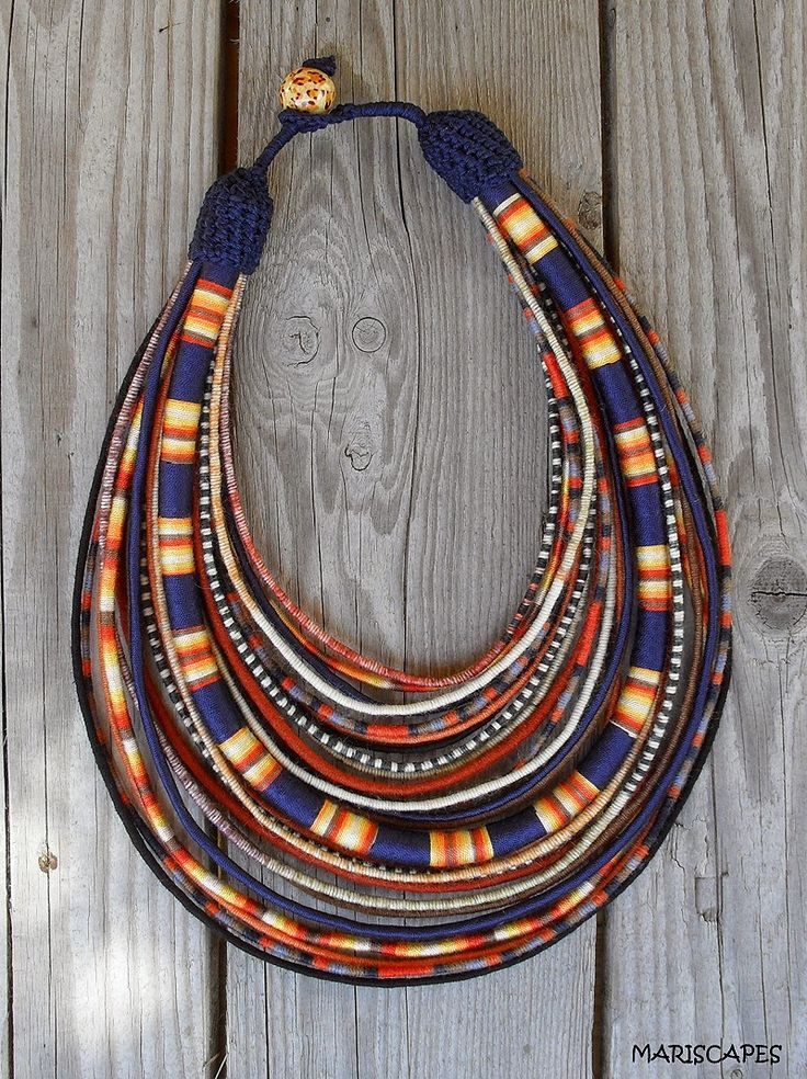 African Prints in Fashion: APIF Gift Guide: Necklaces by Mariscapes ~Latest African Fashion, African Prints, African fashion styles, African clothing, Nigerian style, Ghanaian fashion, African women dresses, African Bags, African shoes, Kitenge, Gele, Nigerian fashion, Ankara, Aso okè, Kenté, brocade. ~DK