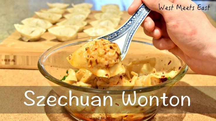 Szechuan Wontons - West Meets East