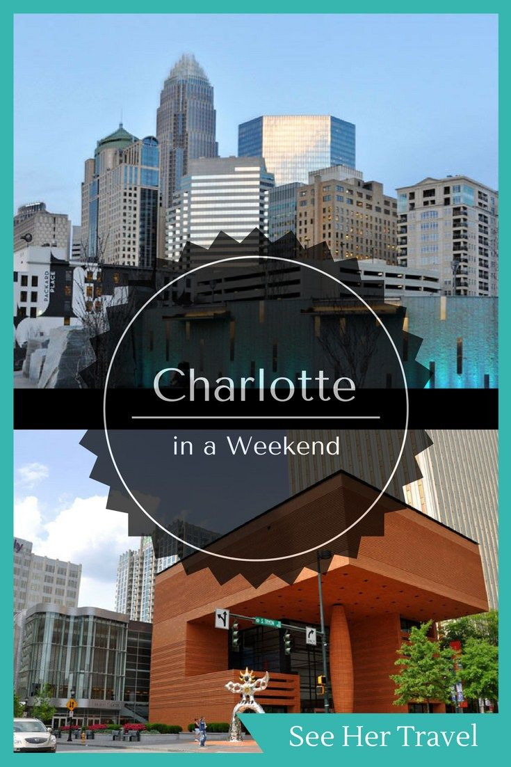 I went on a trip with Brian to Charlotte, North Carolina for Christmas 2016