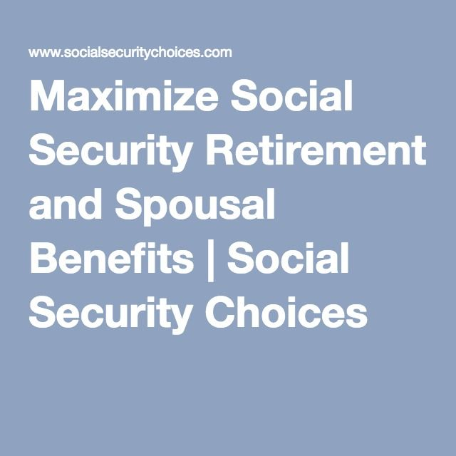 Retiring smart with social security essay
