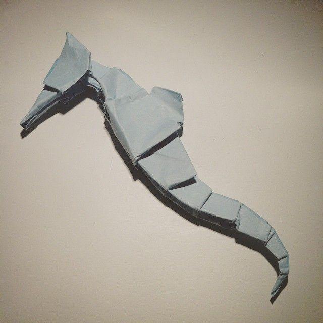Death Summer #dead #seahorse #origami #paper