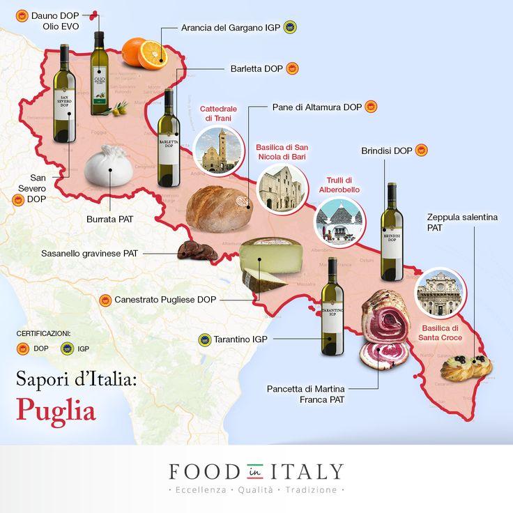 Sapori genuini, gusto unico e meraviglie a perdita d'occhio. Come si fa a resistere ai #cibi tradizionali e straordinari della #Puglia? http://goo.gl/NdEiEU