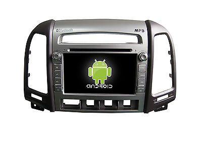 Price - $449.00.ㅤㅤㅤ                Android 6.0 Quad Core 1024x600 Car Dvd Gps Navi Bt Tv For Hyundai Santa Fe 2010-
