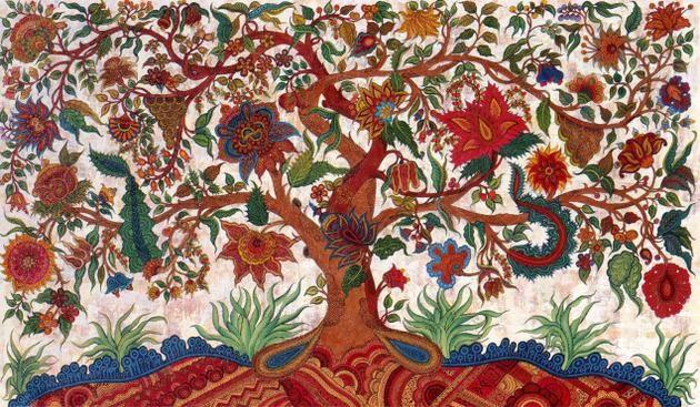 dwaraka kalamkari tree of life | 11SM_KALAMKARI_jpg_1262474g.jpg