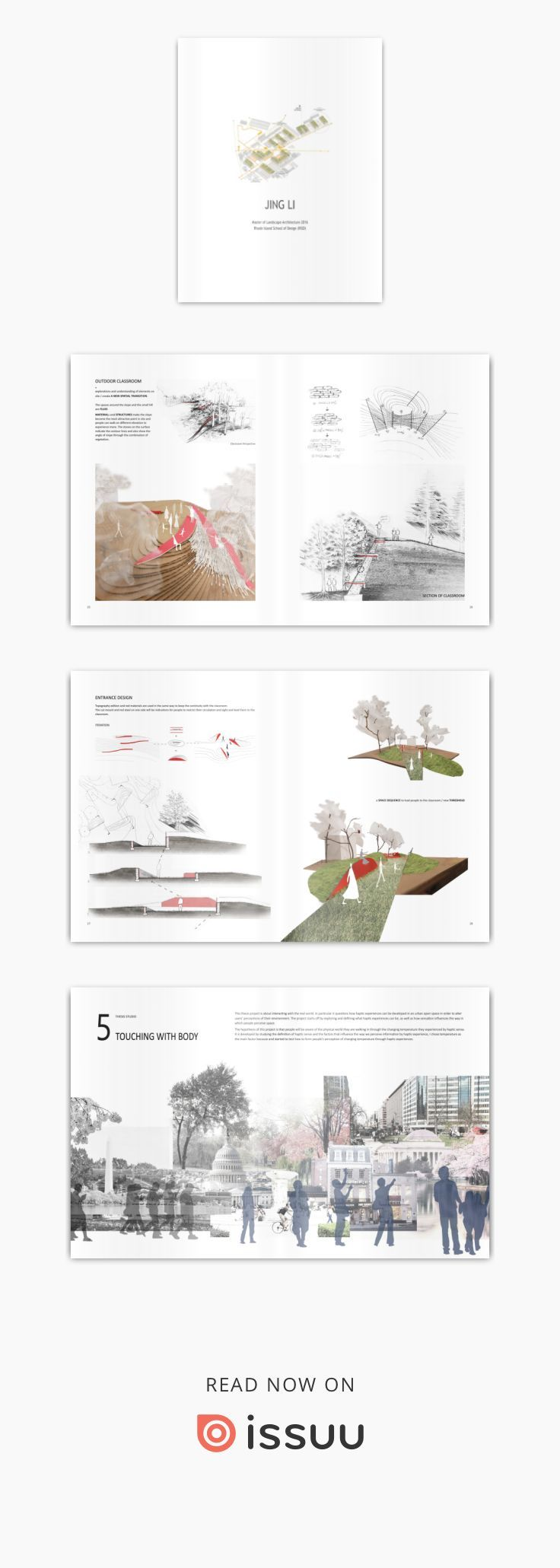 RISD LANDSCAPE PORTFOLIO - JING LI