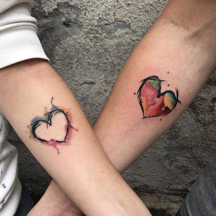 Pinterest Maebelbelle Girlfriend Tattoos Matching Couple Tattoos Couple Tattoos Unique