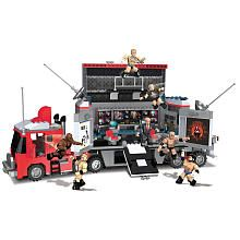 WWE StackDown Hauler w/ CM Punk, The Rock, Mark Henry, Daniel Bryan   (Brenden