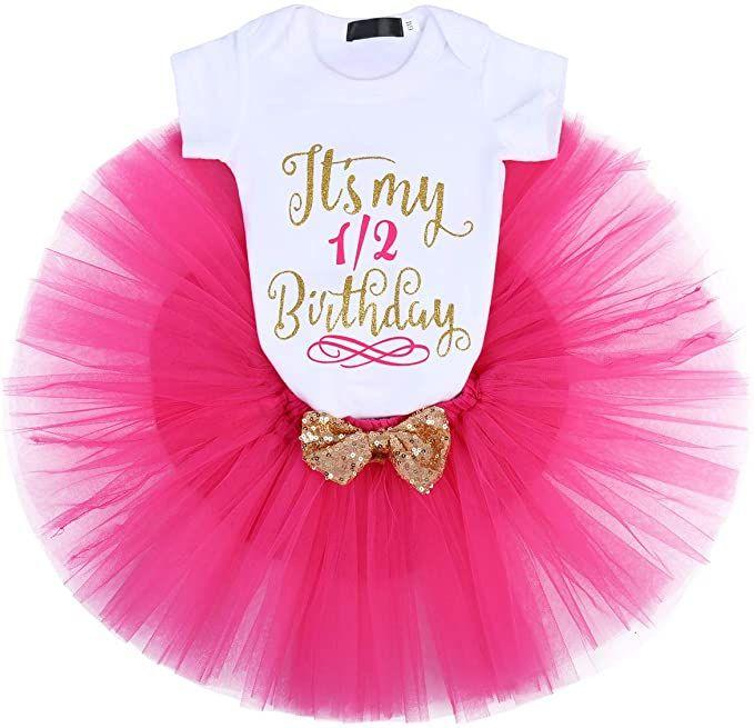 First Christmas Tutu personalised baby 1st tutu fancy dress costume babysuit birthday glitter red set photo prop cake smash