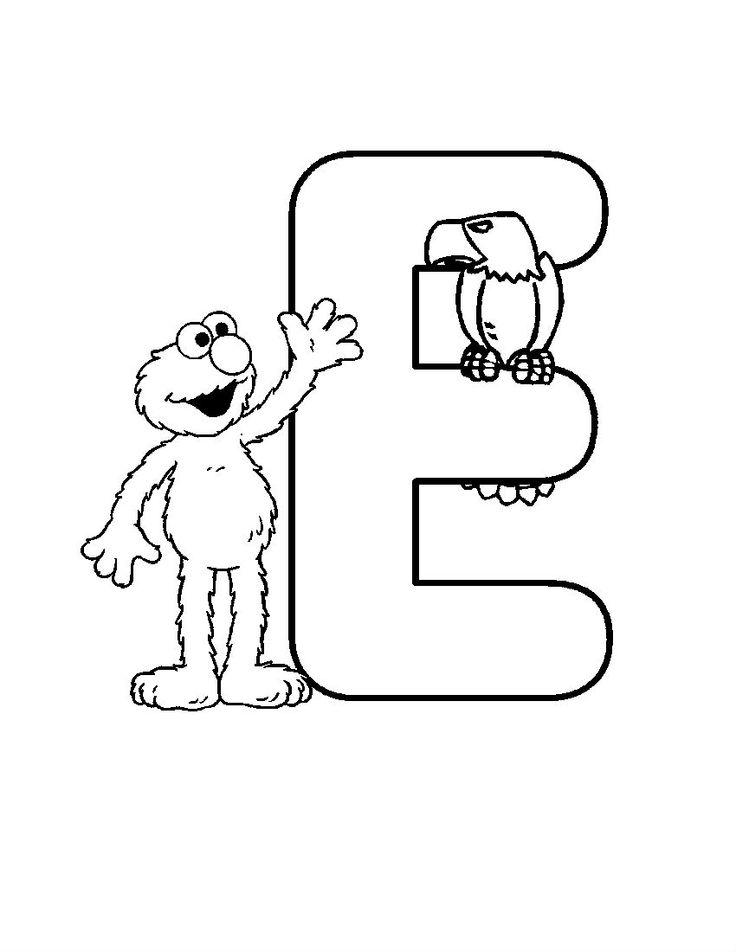 Funny Alphabet With the Birds