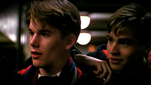 """Dead Poets Society"" - Todd (Ethan Hawke) and Neil (Robert Sean Leonard)"