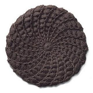 Crochê Tricô - Gráficos: Boina em Crochê