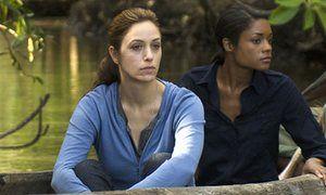 Jodhi May and Naomie Harris in BBC
