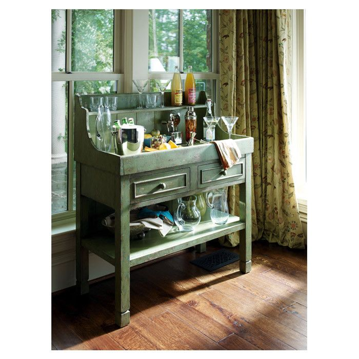 """bar console...  This is what I need for our """"all seasons room"""". However, I'd need to be able to clear all carbonate drinks durning the winter!!"""