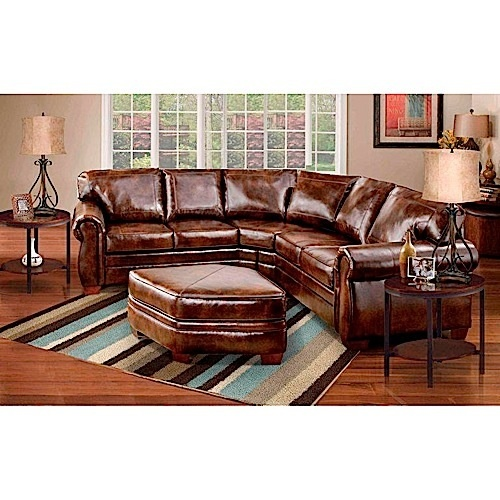 Leather Sectional From Aaron S Furniture For The Home