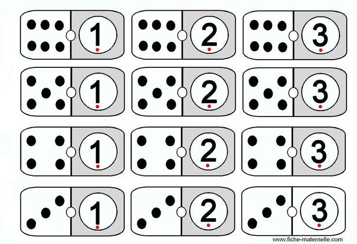Os dejo el enlace a este juego de dominó donde se ha de relacionar el número con su cantidad. Favorece el conteo y la identificación con ...