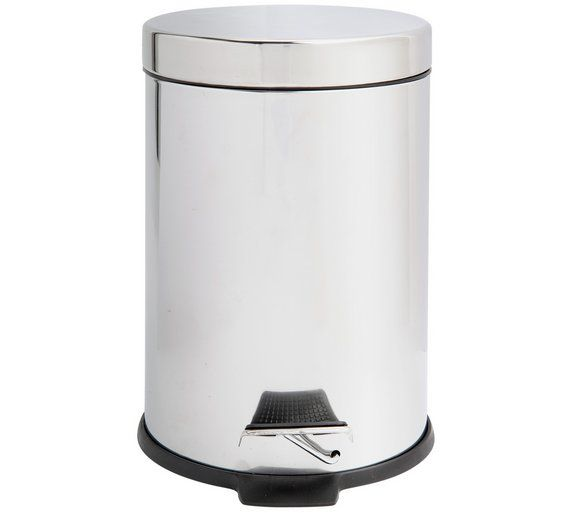 Buy Argos Home 3 Litre Stainless Steel Pedal Bin Bathroom Bins With Images Bathroom Bin Argos Home Bathroom Sets