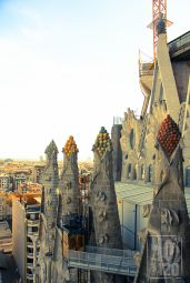 Sagrada Familia Towers - Barcelona, Spain